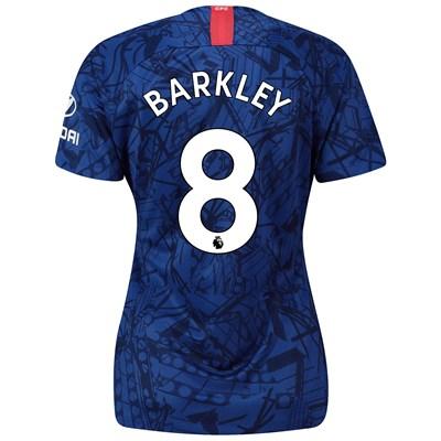 Chelsea Home Stadium Shirt 2019-20 - Womens with Barkley 8 printing