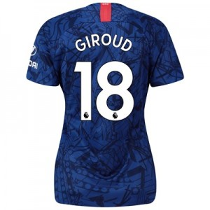 Chelsea Home Stadium Shirt 2019-20 - Womens with Giroud 18 printing