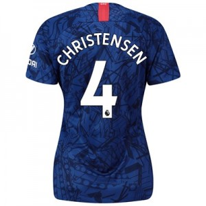 Chelsea Home Stadium Shirt 2019-20 - Womens with Christensen 4 printing