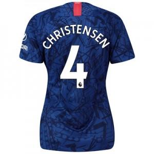 Chelsea Home Stadium Shirt 2019-20 - Womens with Christensen 4 printing