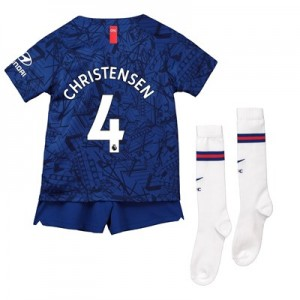 Chelsea Home Stadium Kit 2019-20 - Little Kids with Christensen 4 printing