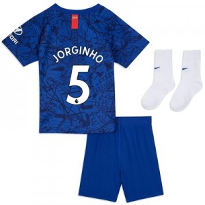 Chelsea Home Stadium Kit 2019-20 - Infants with Jorginho 5 printing