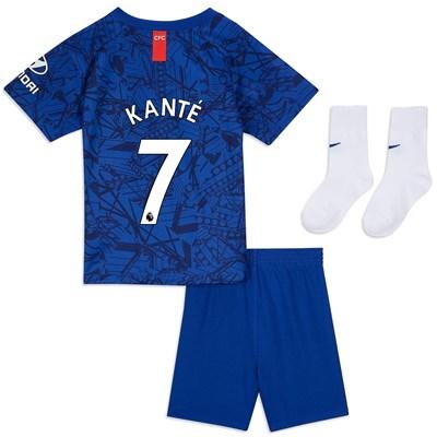 Chelsea Home Stadium Kit 2019-20 - Infants with Kanté 7 printing