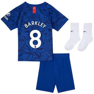 Chelsea Home Stadium Kit 2019-20 - Infants with Barkley 8 printing