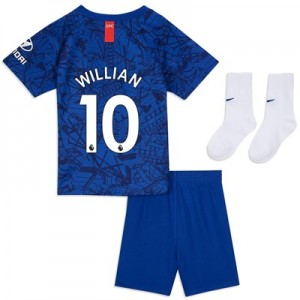 Chelsea Home Stadium Kit 2019-20 - Infants with Willian 10 printing