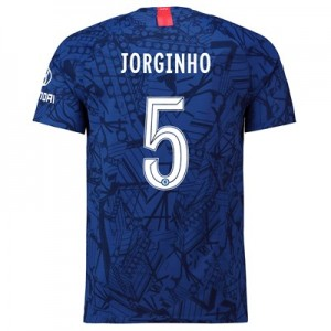 Chelsea Home Cup Vapor Match Shirt 2019-20 with Jorginho 5 printing