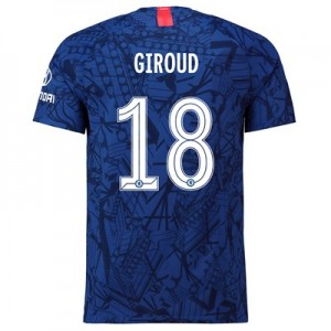 Chelsea Home Cup Vapor Match Shirt 2019-20 with Giroud 18 printing