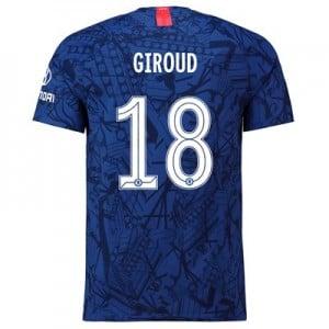 Chelsea Home Cup Vapor Match Shirt 2019-20 with Giroud 18 printing
