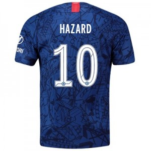 Chelsea Home Cup Stadium Shirt 2019-20 with Hazard 10 printing