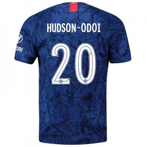 Chelsea Home Cup Stadium Shirt 2019-20 with Hudson-Odoi 20 printing