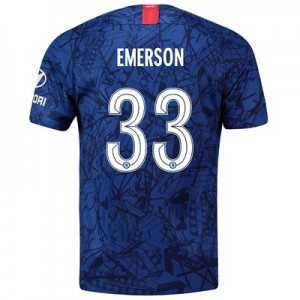 Chelsea Home Cup Stadium Shirt 2019-20 with Emerson 33 printing
