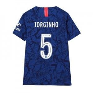 Chelsea Home Cup Vapor Match Shirt 2019-20 - Kids with Jorginho 5 printing