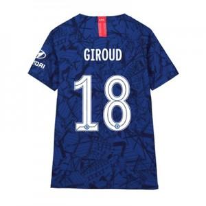 Chelsea Home Cup Vapor Match Shirt 2019-20 - Kids with Giroud 18 printing