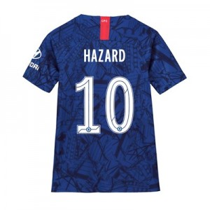 Chelsea Home Cup Stadium Shirt 2019-20 - Kids with Hazard 10 printing