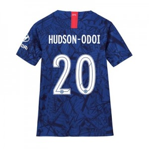 Chelsea Home Cup Stadium Shirt 2019-20 - Kids with Hudson-Odoi 20 printing