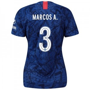 Chelsea Home Cup Stadium Shirt 2019-20 - Womens with Marcos A. 3 printing