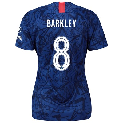 Chelsea Home Cup Stadium Shirt 2019-20 - Womens with Barkley 8 printing