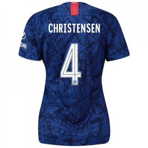Chelsea Home Cup Stadium Shirt 2019-20 - Womens with Christensen 4 printing