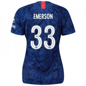 Chelsea Home Cup Stadium Shirt 2019-20 - Womens with Emerson 33 printing