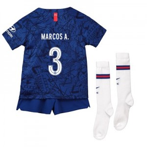 Chelsea Home Cup Stadium Kit 2019-20 - Little Kids with Marcos A. 3 printing