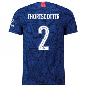 Chelsea Home Cup Vapor Match Shirt 2019-20 with Thorisdottir 2 printing