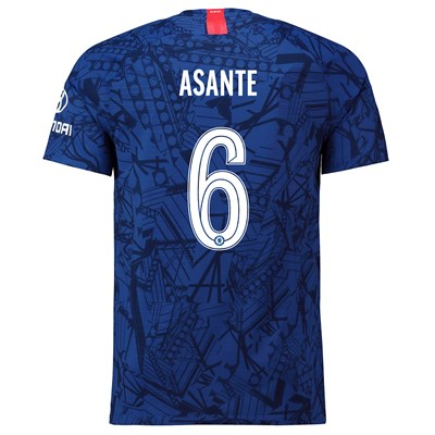 Chelsea Home Cup Vapor Match Shirt 2019-20 with Asante 6 printing