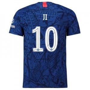 Chelsea Home Cup Vapor Match Shirt 2019-20 with Ji 10 printing