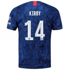 Chelsea Home Cup Stadium Shirt 2019-20 with Kirby 14 printing