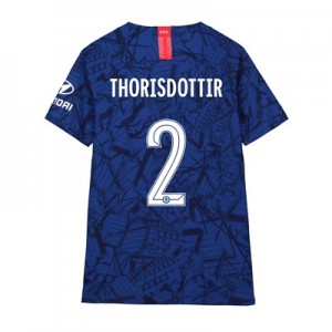 Chelsea Home Cup Vapor Match Shirt 2019-20 - Kids with Thorisdottir 2 printing