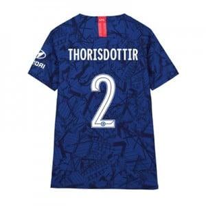 Chelsea Home Cup Vapor Match Shirt 2019-20 - Kids with Thorisdottir 2 printing