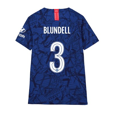 Chelsea Home Cup Vapor Match Shirt 2019-20 - Kids with Blundell 3 printing