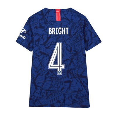 Chelsea Home Cup Vapor Match Shirt 2019-20 - Kids with Bright 4 printing