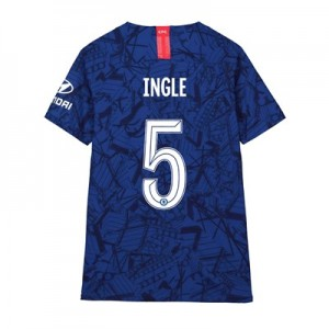 Chelsea Home Cup Vapor Match Shirt 2019-20 - Kids with Ingle 5 printing