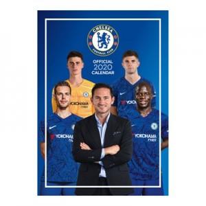 Chelsea Official 2020 A3 Calendar