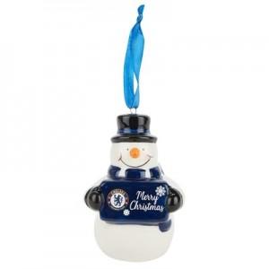 Chelsea Snowman Ornament