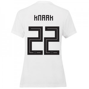 Germany Home Shirt 2019 - Womens with Knaak 22 printing