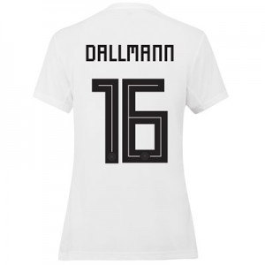 Germany Home Shirt 2019 - Womens with Dallmann 16 printing