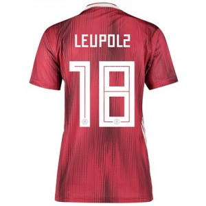 Germany Away Shirt 2019 - Womens with Leupolz 18 printing