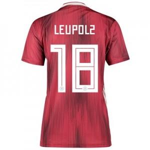 Germany Away Shirt 2019 - Womens with Leupolz 18 printing