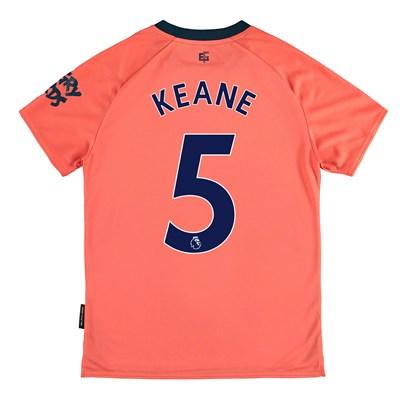Everton Away Shirt 2019-20 - Kids with Keane 5 printing