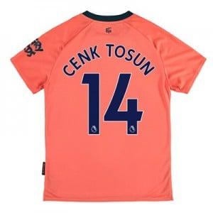 Everton Away Shirt 2019-20 - Kids with Cenk Tosun 14 printing