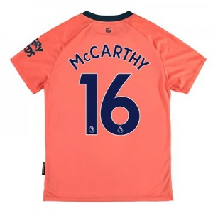 Everton Away Shirt 2019-20 - Kids with McCarthy 16 printing
