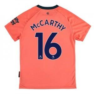 Everton Away Shirt 2019-20 - Kids with McCarthy 16 printing