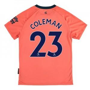 Everton Away Shirt 2019-20 - Kids with Coleman 23 printing