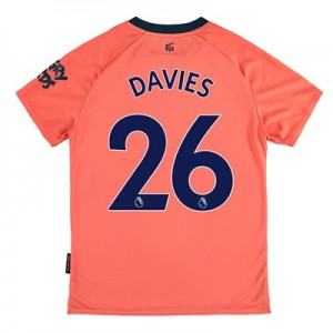 Everton Away Shirt 2019-20 - Kids with Davies 26 printing