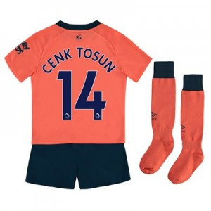 Everton Away Infant Kit 2019-20 with Cenk Tosun 14 printing