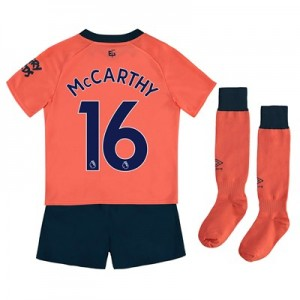 Everton Away Infant Kit 2019-20 with McCarthy 16 printing