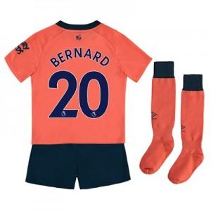 Everton Away Infant Kit 2019-20 with Bernard 20 printing