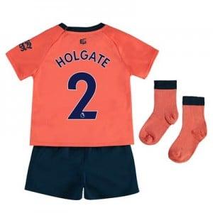 Everton Away Baby Kit 2019-20 with Holgate 2 printing