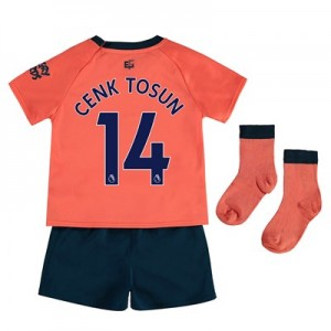 Everton Away Baby Kit 2019-20 with Cenk Tosun 14 printing